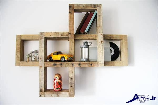 ساخت قفسه چوبی