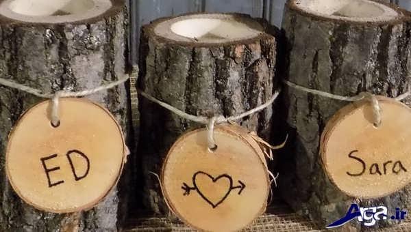 خلاقین زیبا با چوب