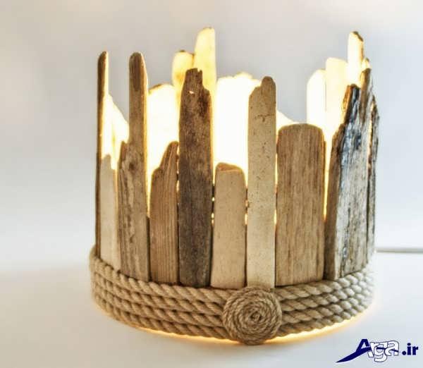 خلاقیت ساده با چوب