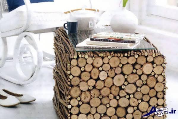خلاقیت در ساخت میز چوبی