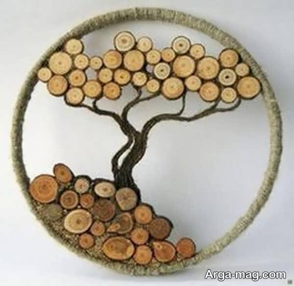 جذاب ترین خلاقیت با چوب