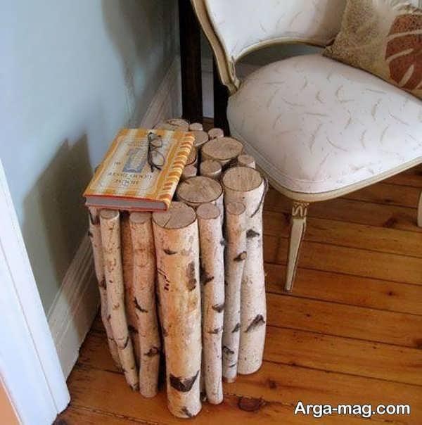 وسایل خلاقانه ساخته شده با چوب