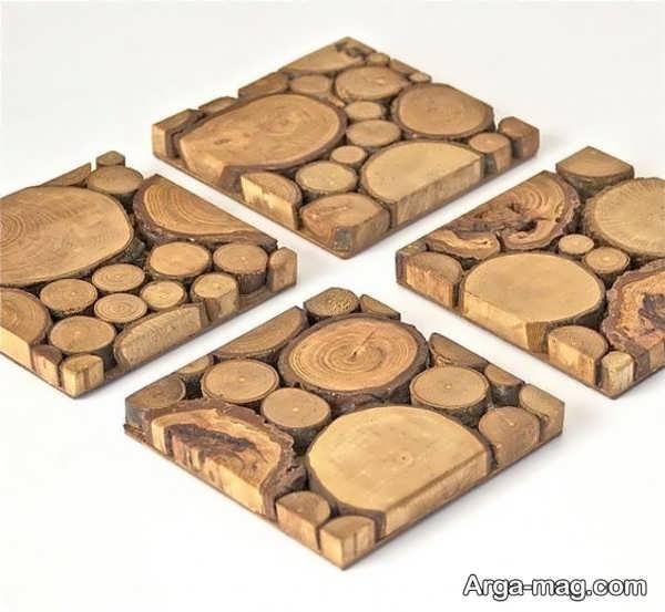 قشنگ ترین خلاقیت با چوب
