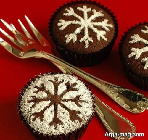 تزیینات منحصر به فرد کاپ کیک شکلاتی