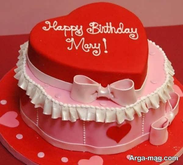 تزیینات عاشقانه کیک با خمیر فوندانت