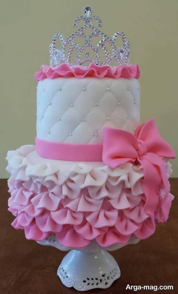 تزیینات زیبای کیک با خمیر فوندانت