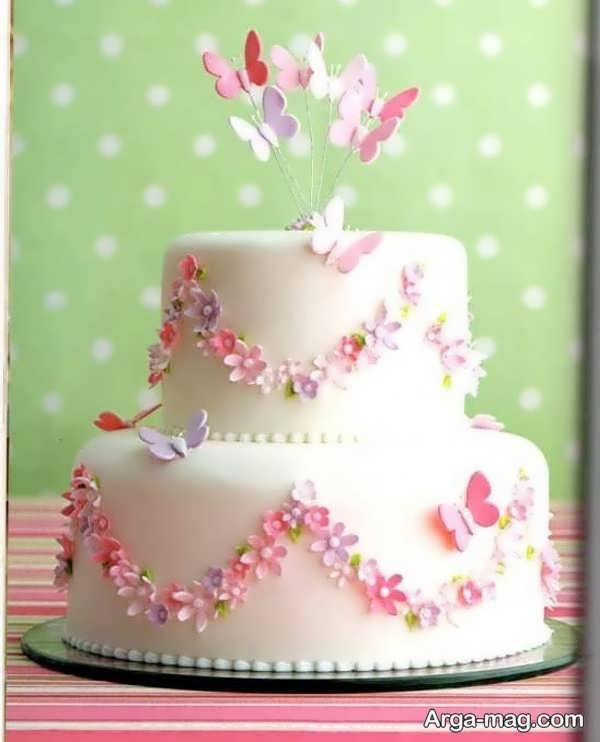 تزیینات جدید کیک با خمیر فوندانت