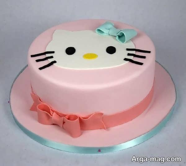 انواع تزیینات کیک با خمیر فوندانت