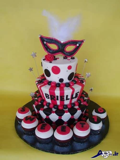 مدل تزیین کیک تولد و کاپ کیک