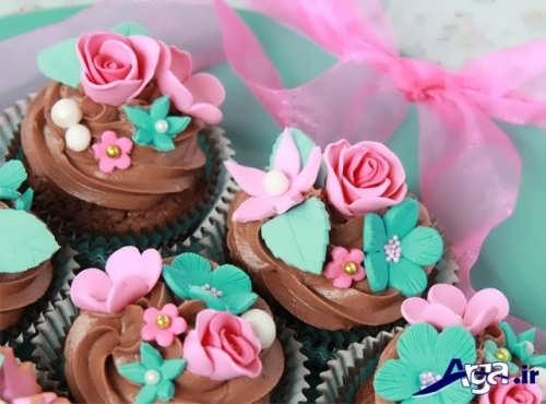 کاپ کیک با تزیینات خلاقانه