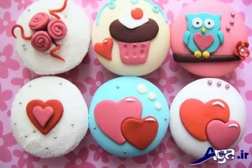 طرح های عروسکی و بچه گانه تزیینات کاپ کیک
