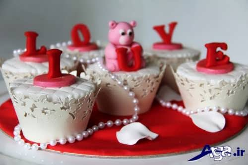 انواع مدل های زیبا و خلاقانه تزیین کاپ کیک
