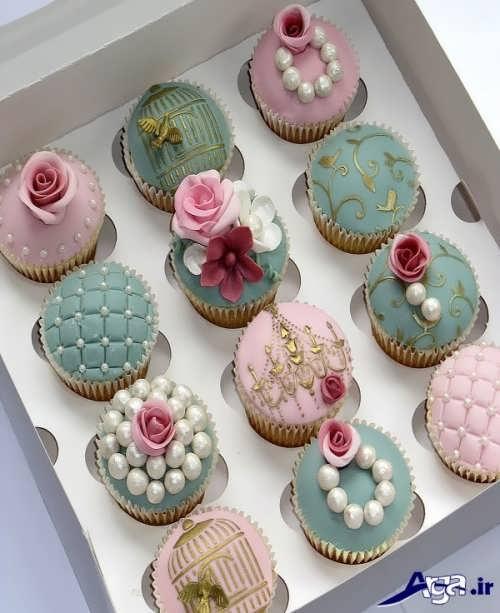 تزیین کاپ زیبا کیک