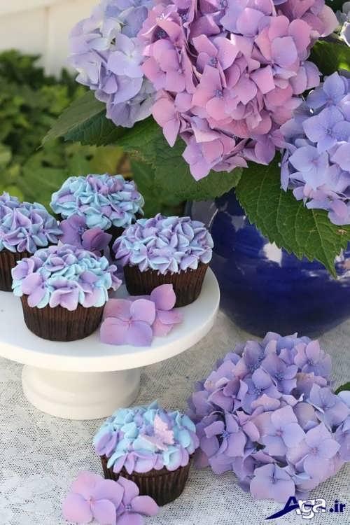 مدل تزیین خلاقانه و زیبا کاپ کیک