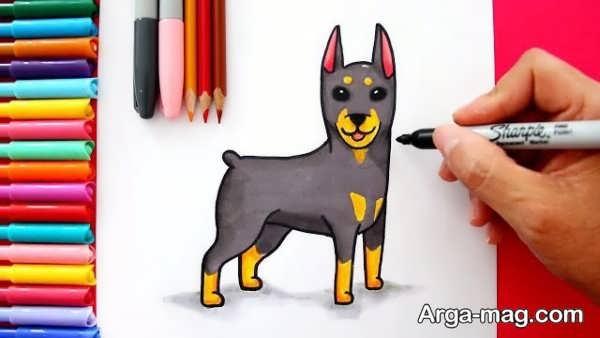 زیباترین طرح سگ برای رنگ آمیزی