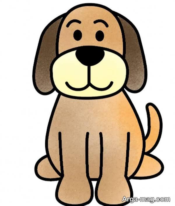 آموزش نقاشیها و رنگ آمیزی سگ