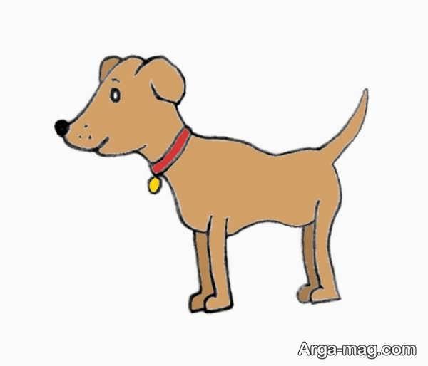 نقاشیهای جالب سگ