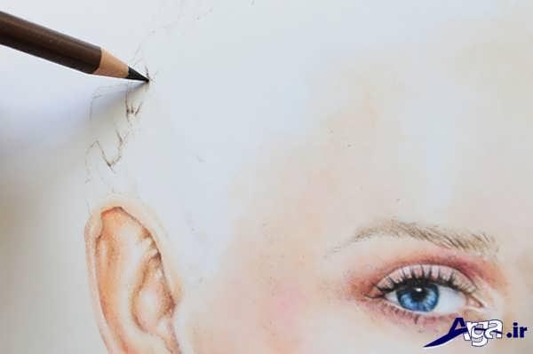 آموزش نقاشی چهره