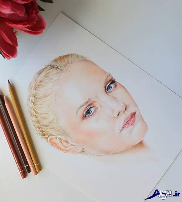 آموزش نقاشی با مداد رنگی