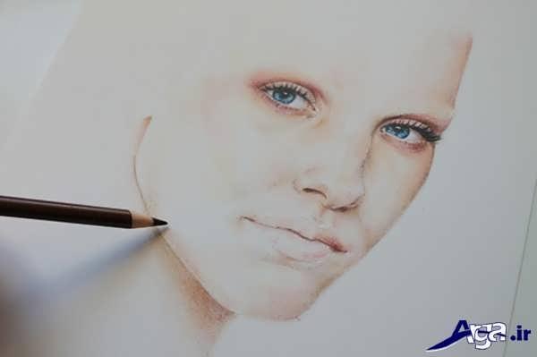 نقاشی با مداد رنگی برای بزرگشالان
