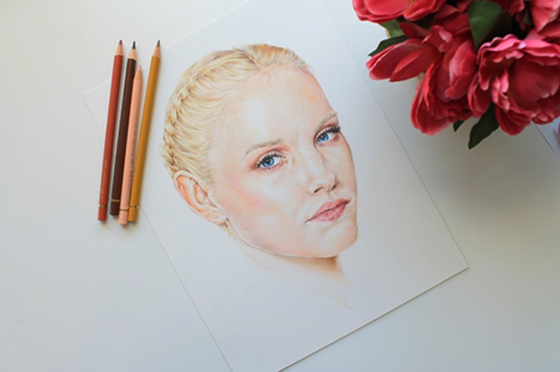 آموزش نقاشی با مداد رنگی و تکنیک های جدید آن