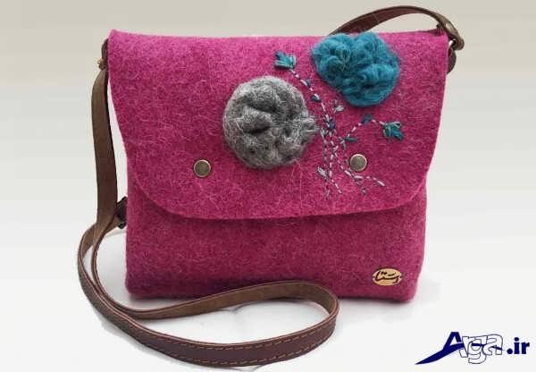 کیف زنانه نمدی