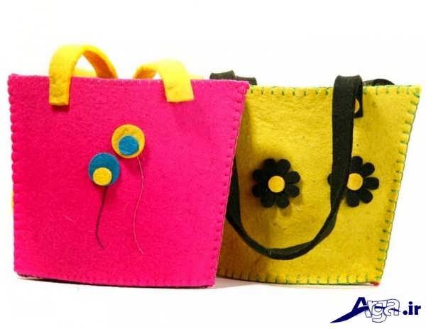 کیف دخترانه نمدی