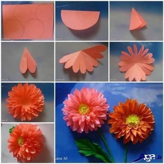 ساخت کاردستی با کاغذ رنگی برای کودکان