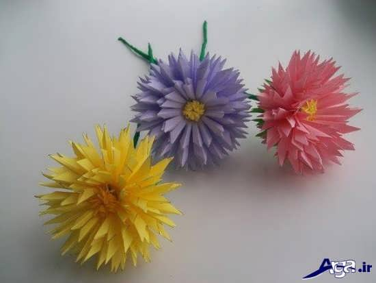 کاردستی گل برای کودکان