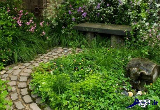 تزیین باغچه منزل با روش های خلاقانه و زیبا