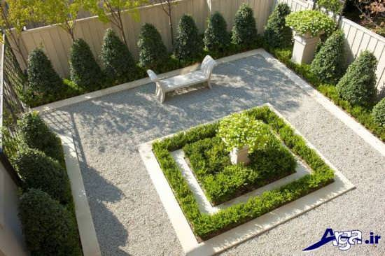 تزیین و ساخت باغچه در حیاط منزل