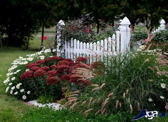 طراحی فضای سبز در باغچه کوچک