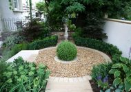 تزیین باغچه منزل