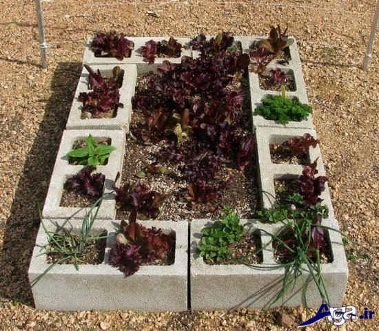 ساخت باغچه در حیاط های کوچک