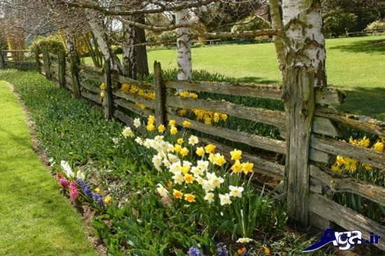 تزیین زیبای باغچه برای حیاط های کوچک