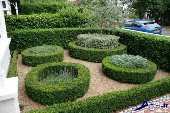 تزیین داخل باغچه و طراحی فضای سبز