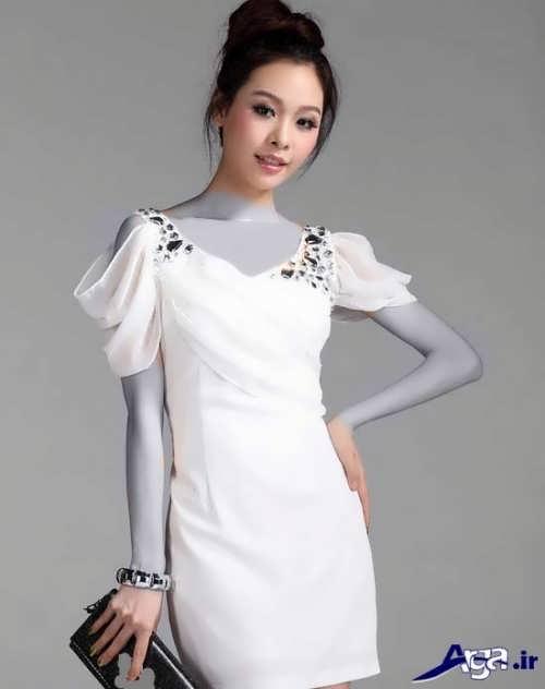 مدل پیراهن کوتاه کره ای