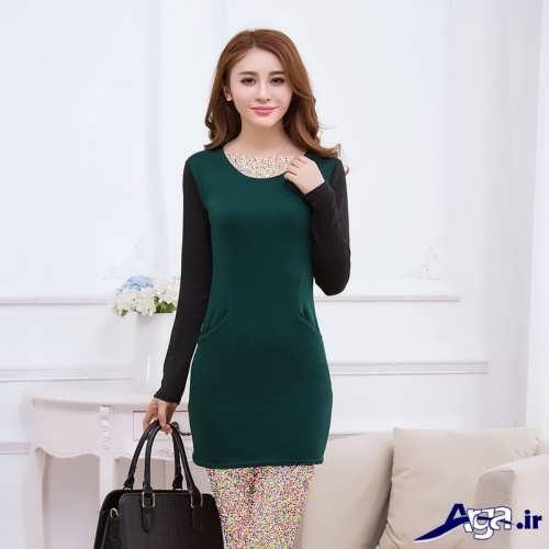 مدل لباس دخترانه کره ای ساده