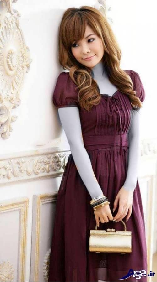 مدل پیراهن دخترانه کره ای شیک