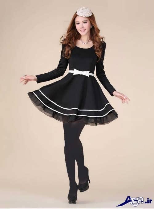 مدل لباس دخترانه کره ای با طرحی زیبا