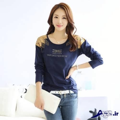 مدل بلوز و شلوار اسپرت کره ای