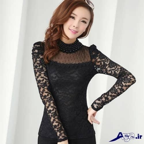 مدل لباس گیپور دخترانه کره ای