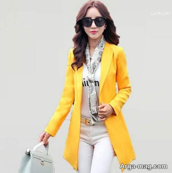 کت زرد دخترنه
