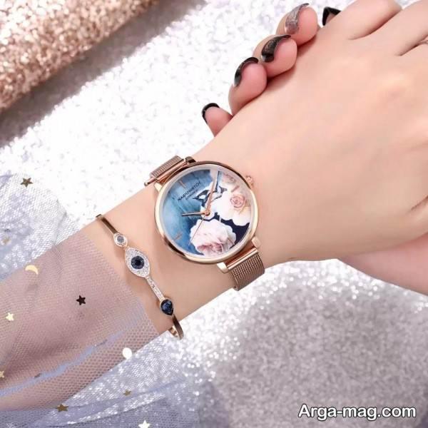 ساعت زیبا و شیک دخترانه
