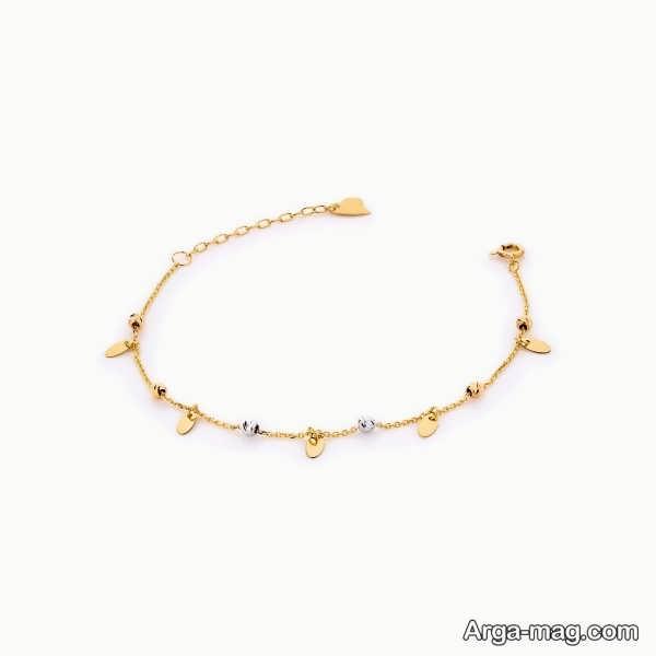 مدلی شیک از دستبند طلا