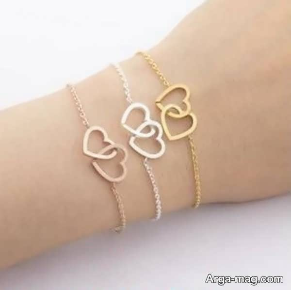 مدلی جدید از دستبند طلا