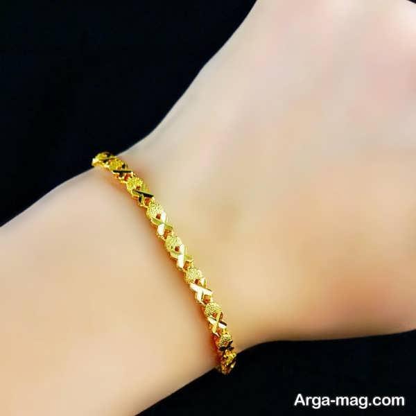 مدل دستبند طلا دخترانه