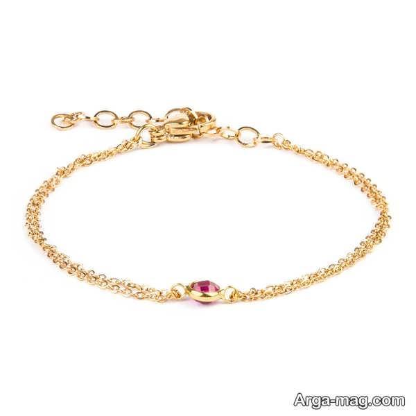 طرح شیک دستبند طلا
