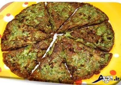 کوکوی لوبیا سبز