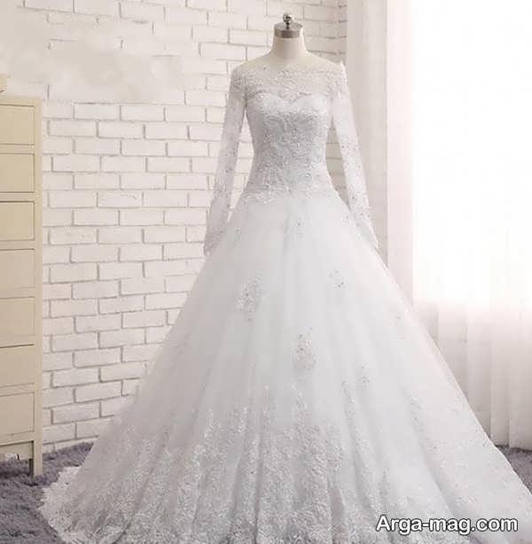 انواع مدل پیراهن عروس گیپور